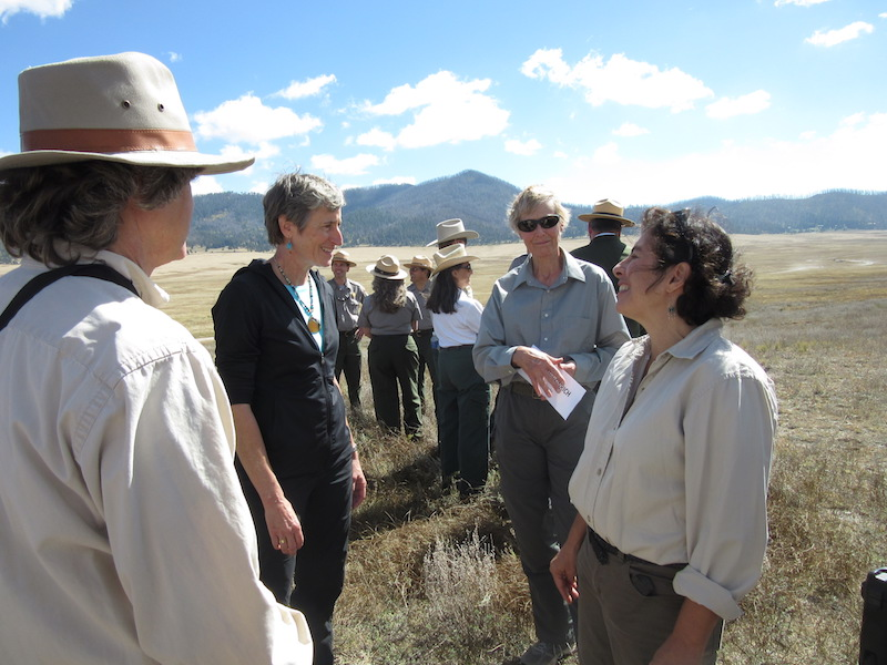 photo of Valles Caldera Preserve ceremony
