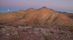 Photo of Organ Mountains by the Bureau of Land Management for an article by the Rio Grande Sierra Club about Organ Mountains / Four Corners Legislation passed by Sens. Udall and Heinrich